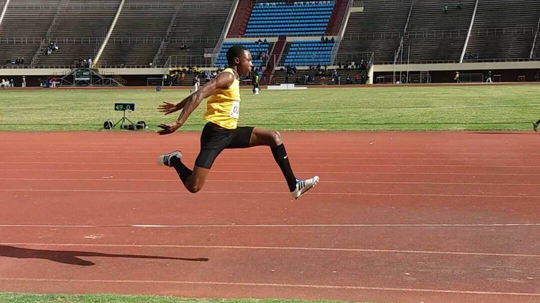 Chengetayi Mapaya Jumps 16.01 For Zimbabwean Triple Jump Gold
